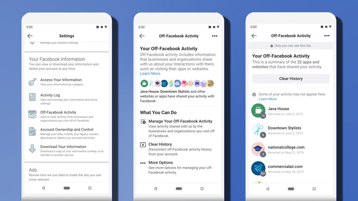 Facebook's Clear History Tools Won't Actually Delete Your Data