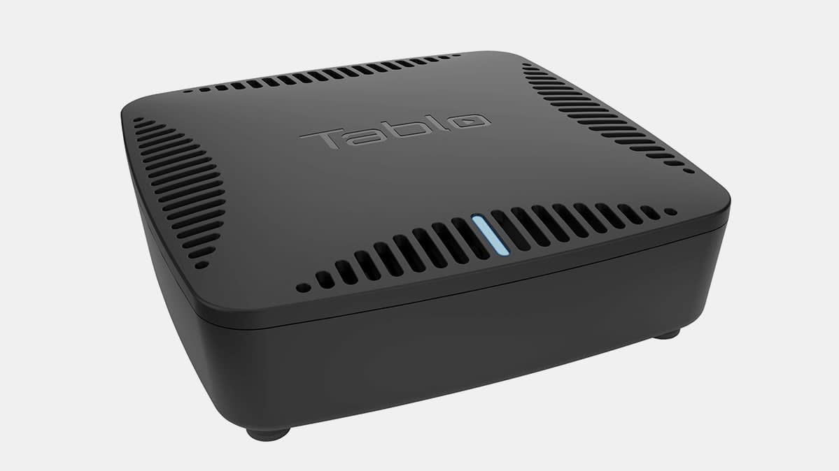 Photo of the Tablo Dual Lite OTA DVR.