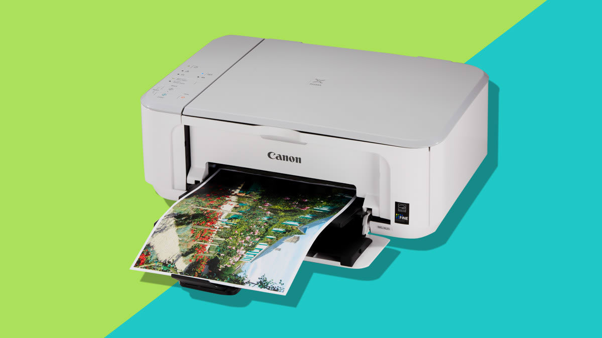 The Canon Pixma MG3620, one of the best Cyber Monday printer deals.