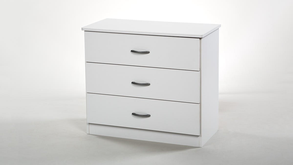 The South Shore Libra 3-drawer dresser.
