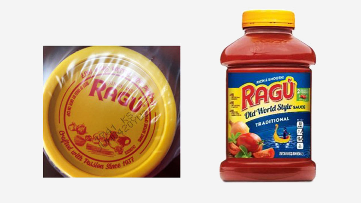 Ragu Old World Style Traditional sauce is part of the Ragú recall.