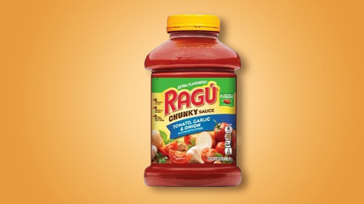 Ragu recalls three flavors of pasta sauce including Chunky Tomato Garlic & Onion