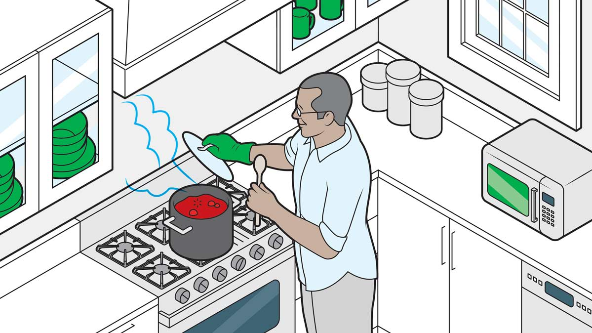 6 Steps for Cooking Safety