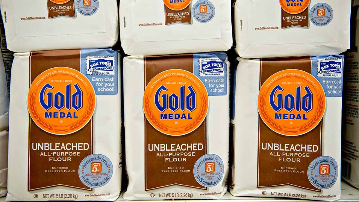 300 Tons of Gold Medal Flour Recalled
