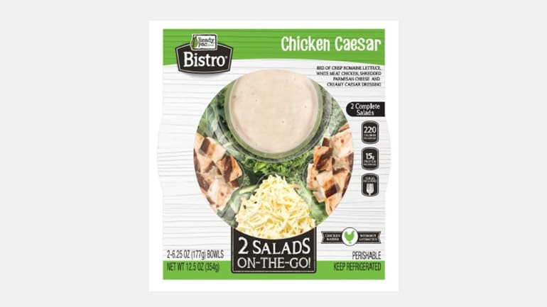 Ready Pac Bistro Chicken Caesar Salad, possibly implicated in an E. coli outbreak in Maryland