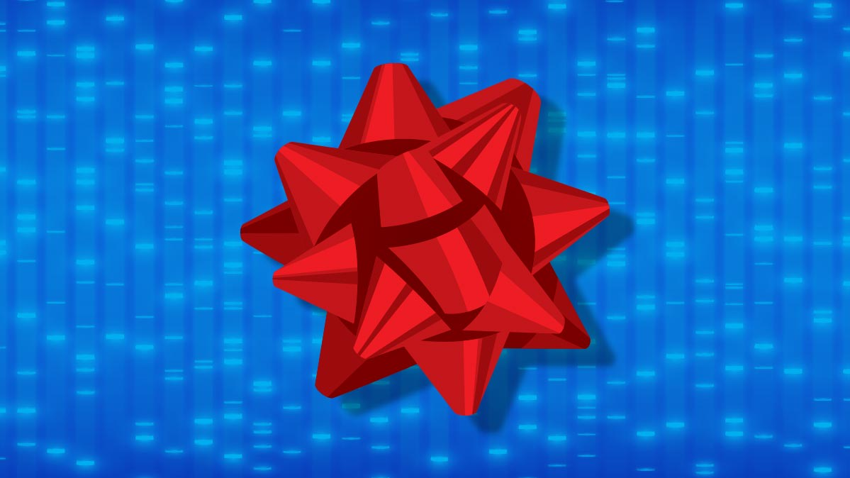 An illustration of a gift bow.