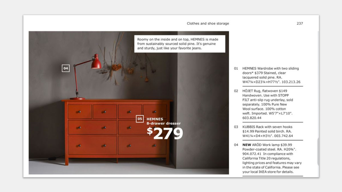 The Ikea Hemnes 8-drawer dresser