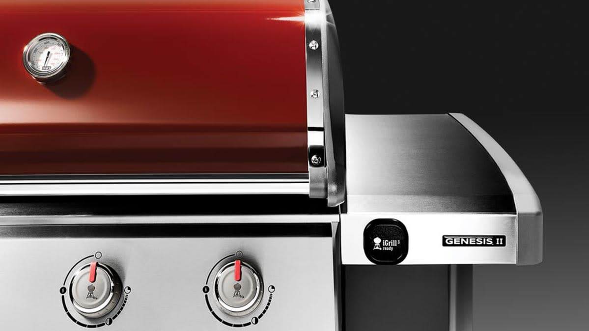 The Weber Genesis II, one of the best gas grills in the $700 to $1,000 price category