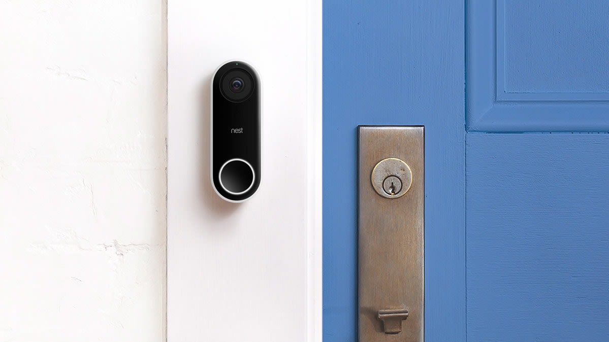 A video doorbell.
