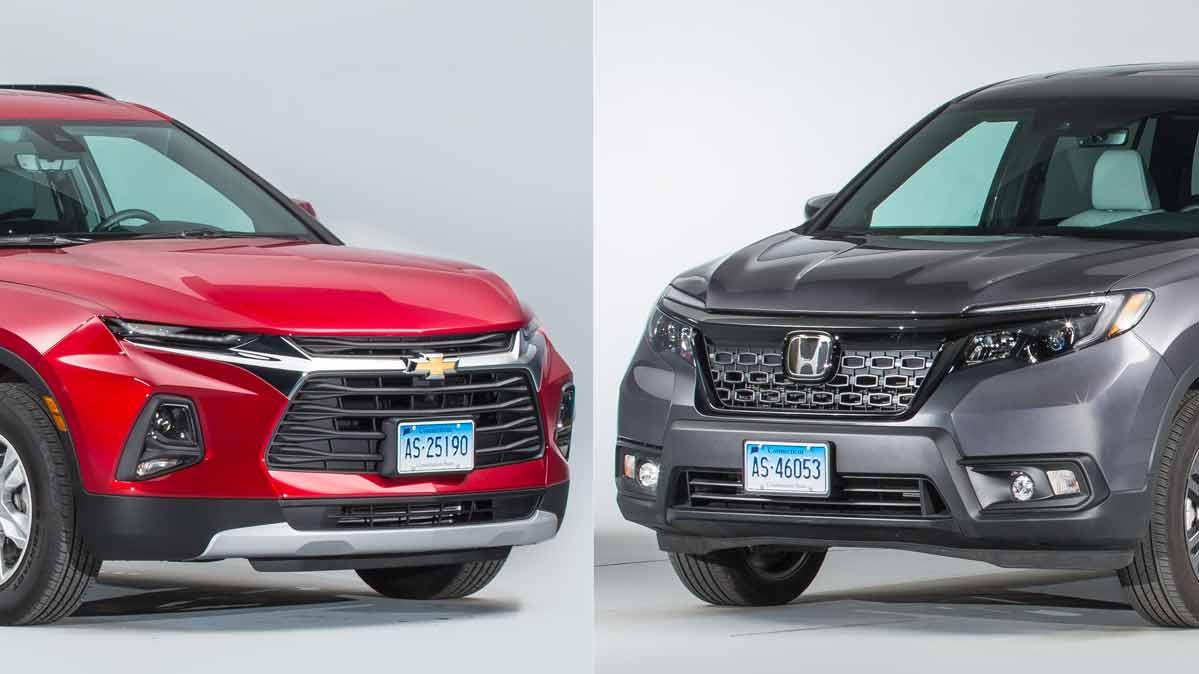 Face-Off: Chevrolet Blazer vs. Honda Passport