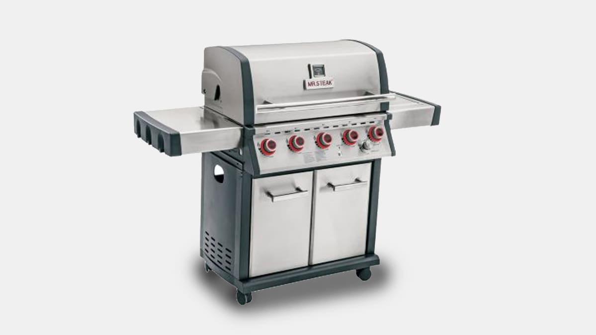 A recalled Mr. Steak Grill from Bass Pro