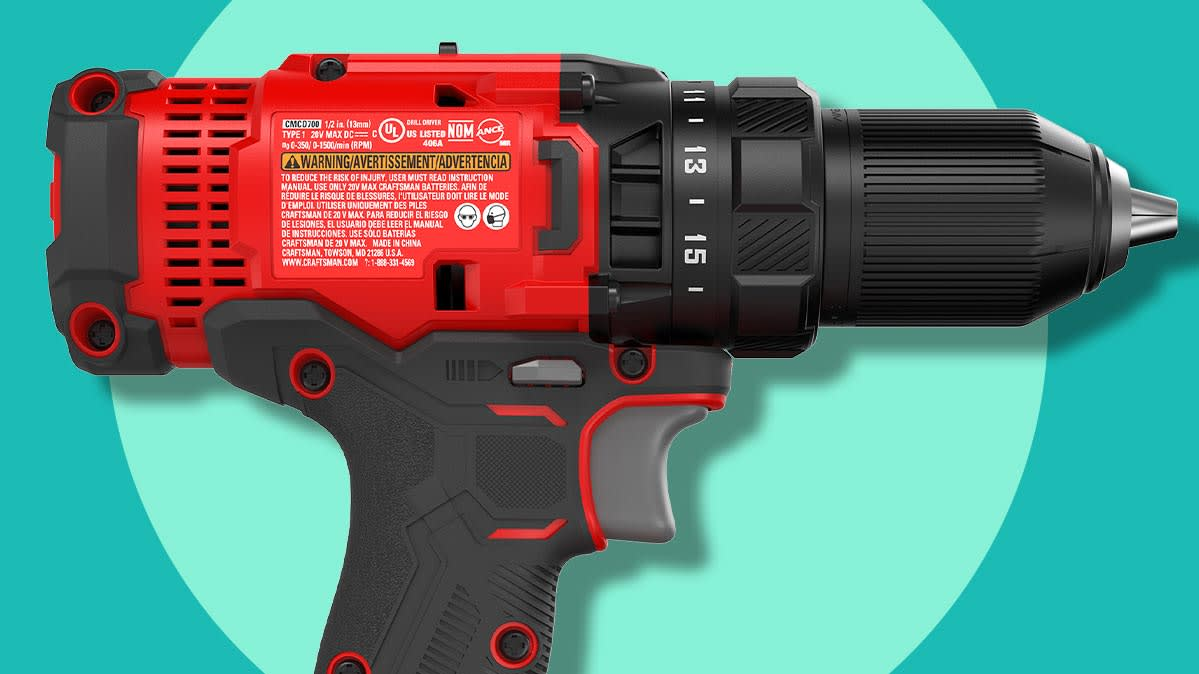 One of the best inexpensive cordless drills.