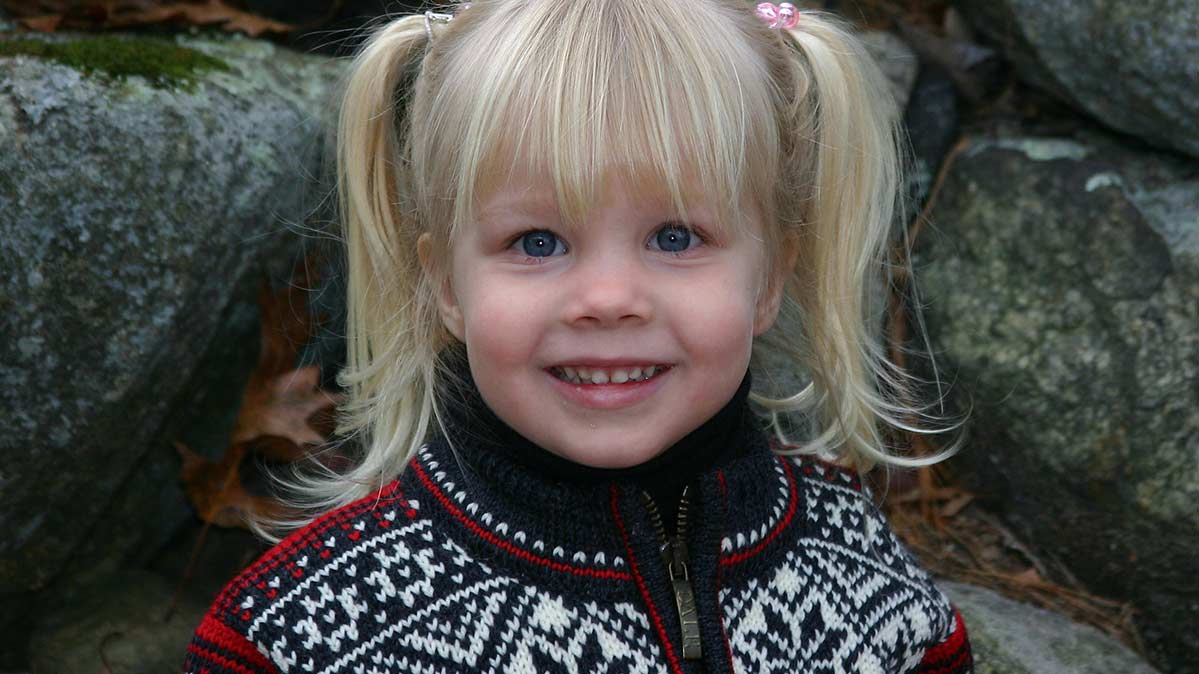 Meghan Amato, 3 years old, was killed when a dresser in her bedroom tipped over onto her.