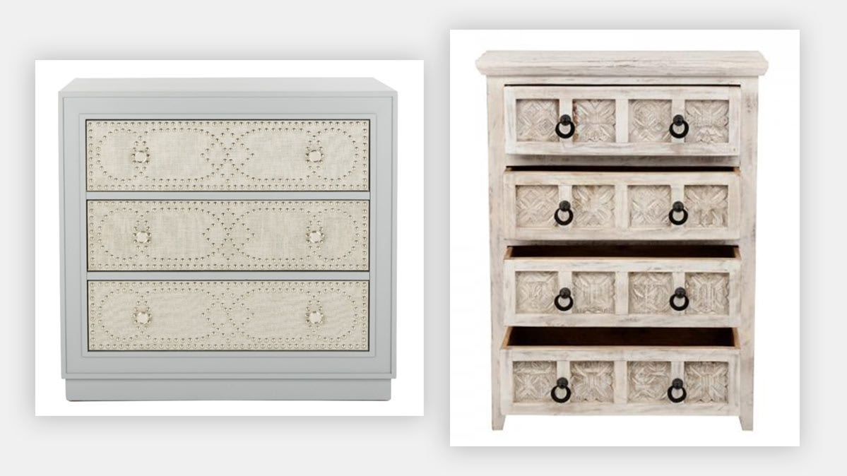 The Home Depot and Safavieh recalled dressers.