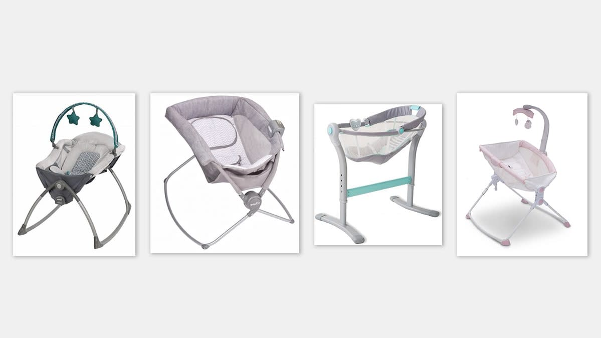 Graco, Evenflo, Sumr Brands, and Delta Recall Infant Inclined Sleepers