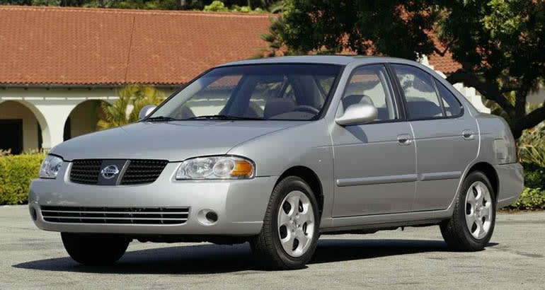 2005 Nissan Sentra recalled for Takata airbag replacement