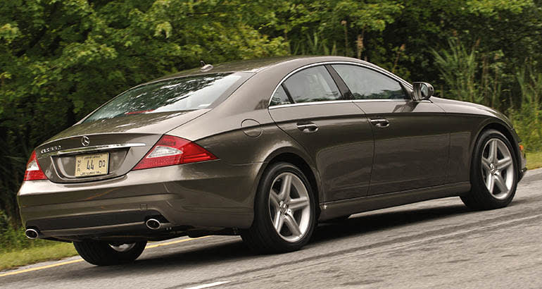 Mercedes-Benz glass recall includes the 2009 CLS