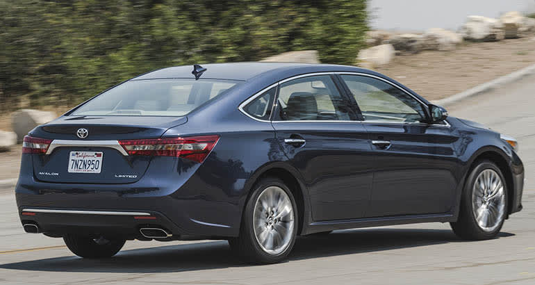 Toyota recall includes the 2016 Toyota Avalon
