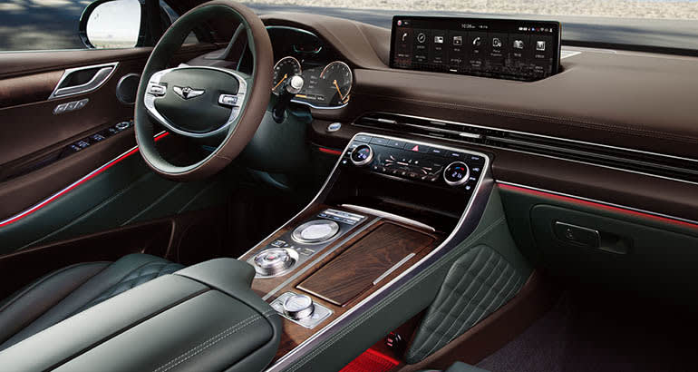 Image result for genesis gv80 interior""