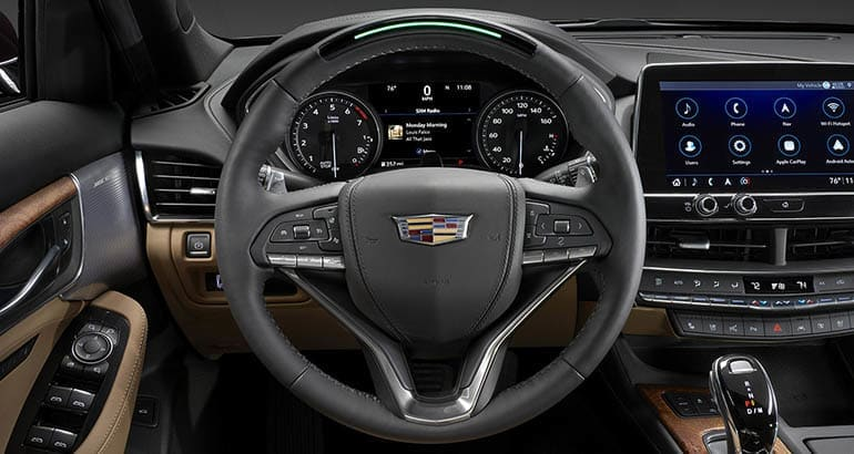 Cadillac — 2021 GM Super Cruise updates in action