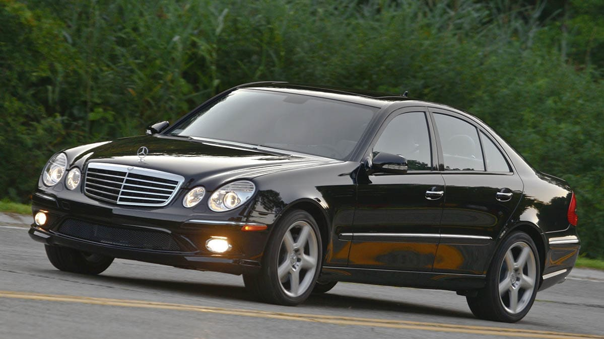 Mercedes-Benz glass recall includes the 2009 E350