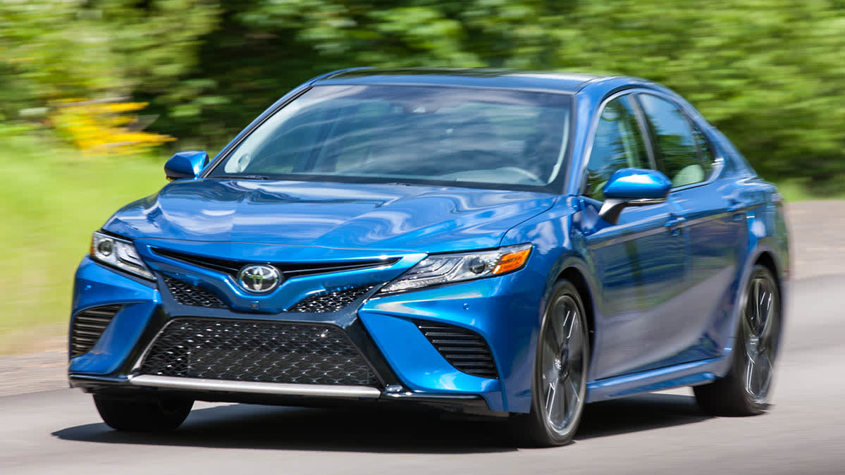 2019 Toyota Camry, which is included in the latest Toyota and Lexus recall.