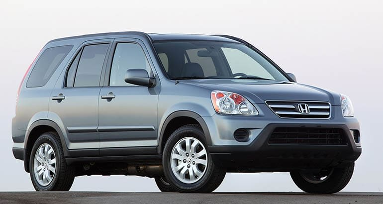2005 Honda CR-V is among the best used SUVs