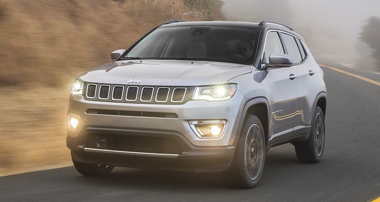 Jeep Compass — a vehicle included in a new recall about windshield wipers