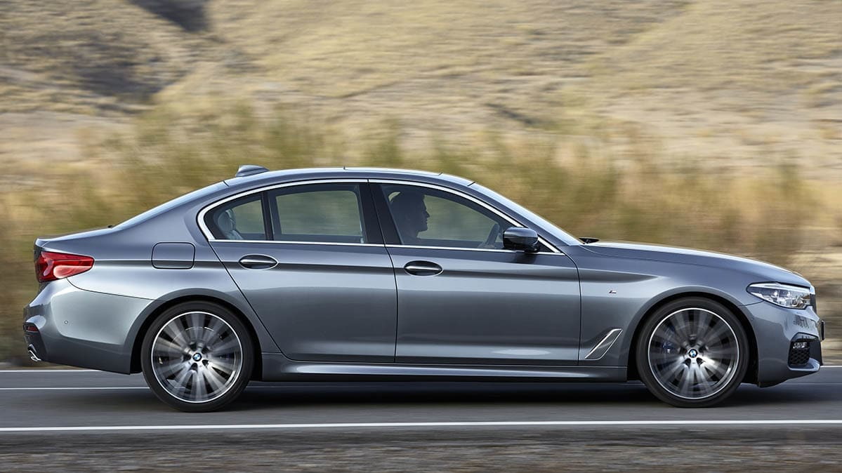 2017 BMW 5 Series was part of the IIHS safety study