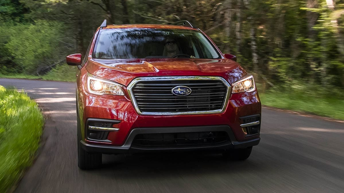 A 2019 Subaru Ascent is one of the vehicles included in the latest Subaru recall.