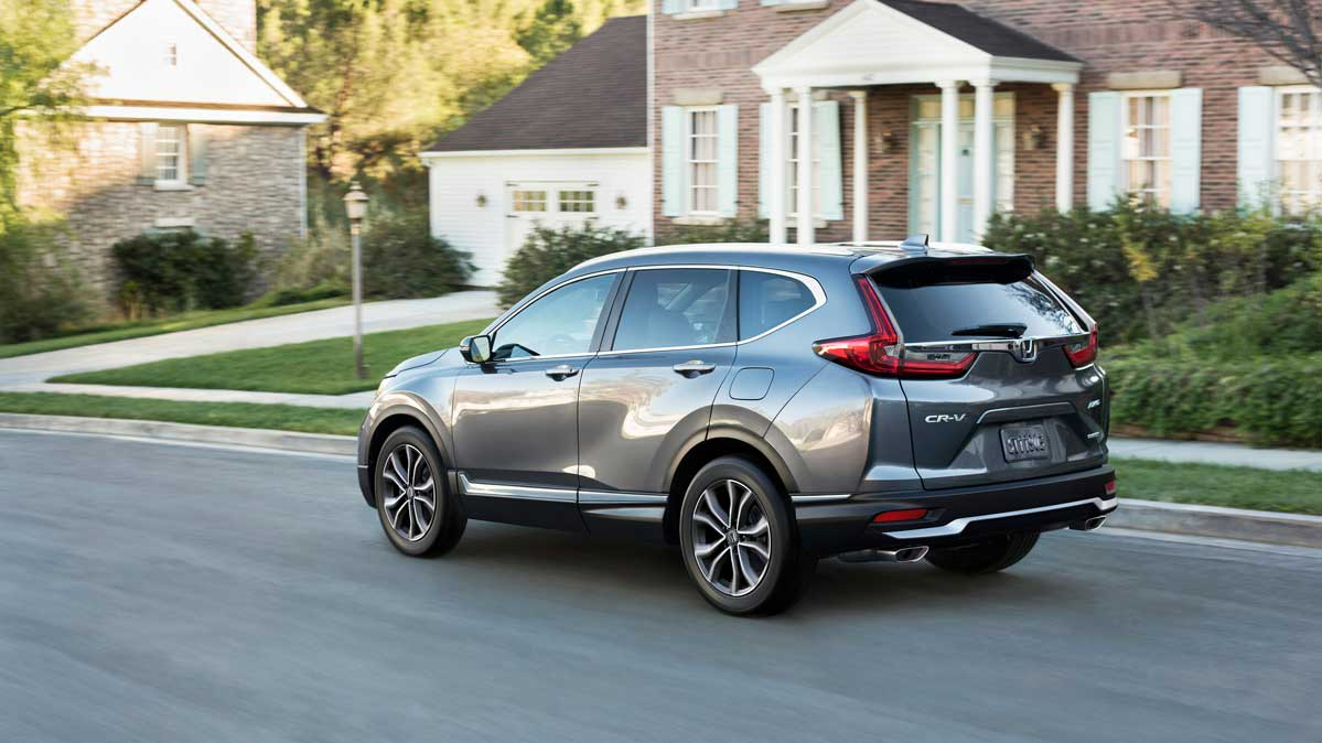 The 2020 Honda CR-V is a reliable and fuel-efficient SUV.