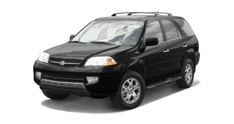 The 2003 Acura MDX is among the models most likely to need an engine rebuild.