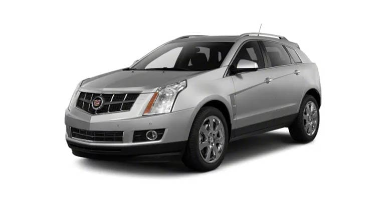 The 2010 Cadillac SRX is among the models most likely to need an engine rebuild.