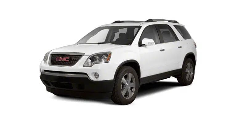The 2010 GMC Acadia is among the models most likely to need an engine rebuild.