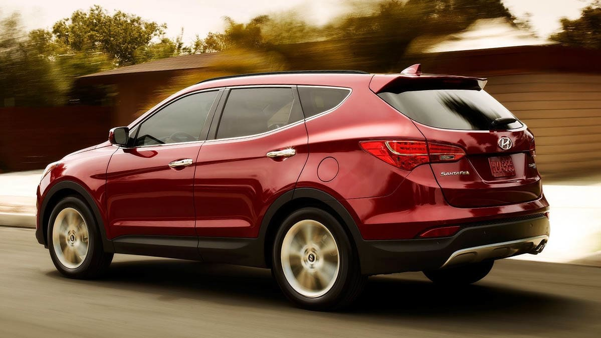 Best Used Cars for between $15,000 and $20,000 includes the 2016 Hyundai Santa Fe Sport