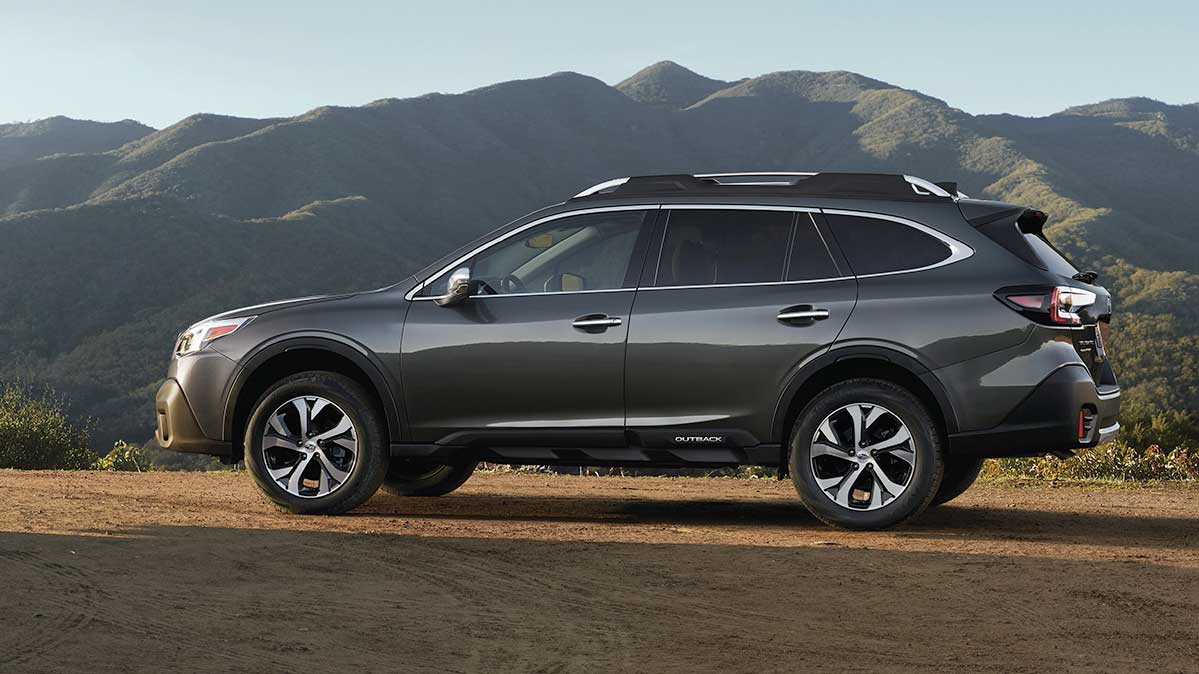 The Subaru Outback is one of the most reliable and fuel-efficient new midsize SUVs.