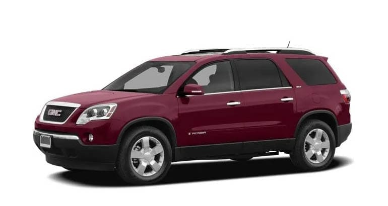 The 2008 GMC Acadia is among the models most likely to need a transmission replacement.