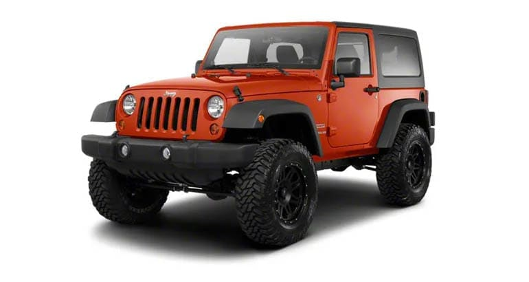 The 2010 Jeep Wrangler is among the models most likely to need a transmission replacement.