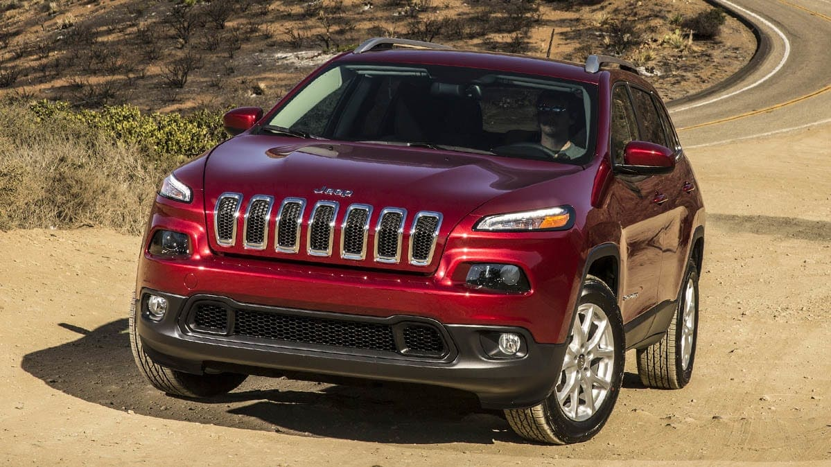 2016 Jeep Cherokee that's included in the latest Jeep Cherokee recall.