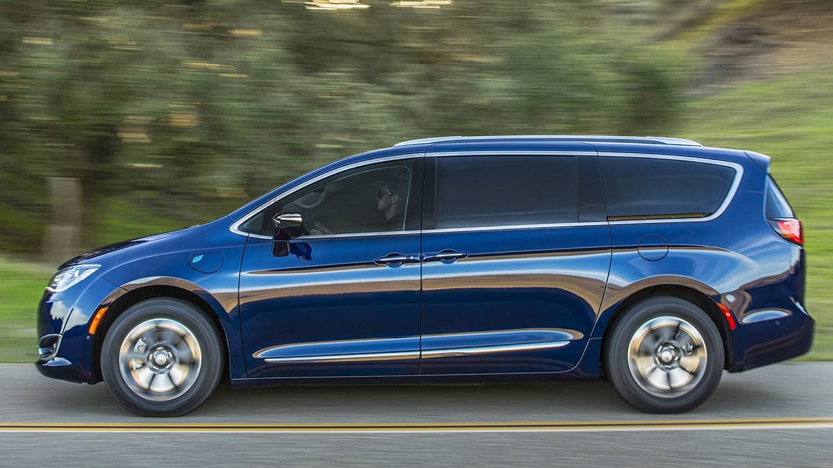 Chrysler Pacifica Hybrid Fire Risk