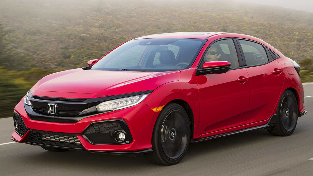 2019 Honda Civic hatchback is included in the Acura, Honda fuel pump recall