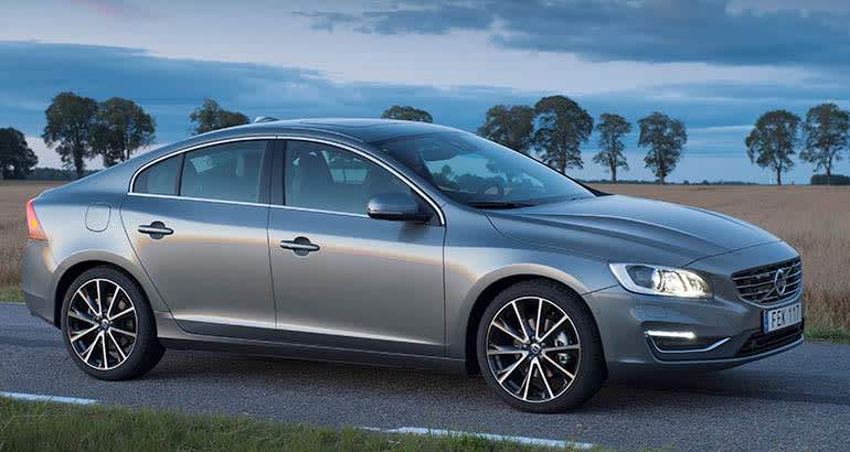 2016 Volvo S60 is among the Volvos recalled for seat belt concerns.