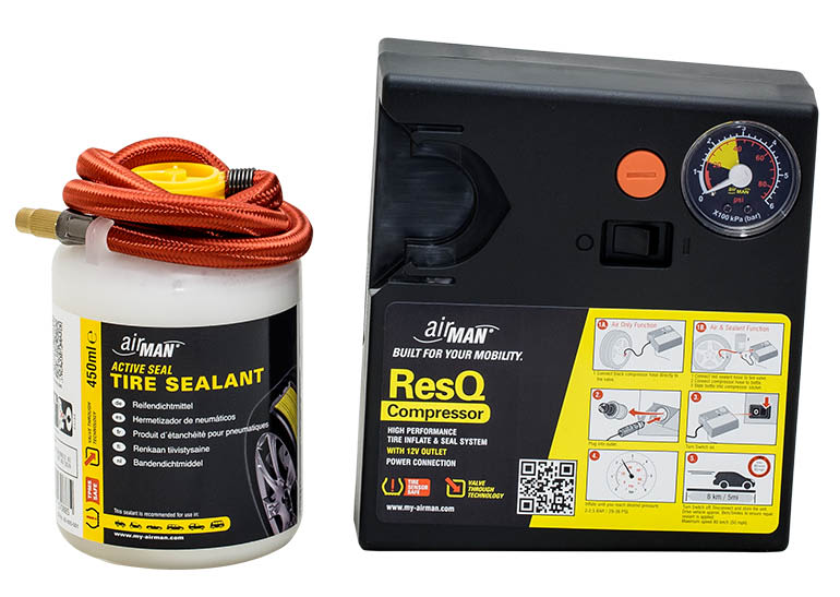 airMan ResQ Tire Repair Kit tire sealant kit