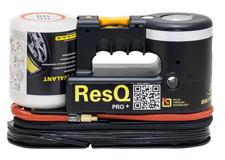 airMan ResQ Pro + tire sealant kit