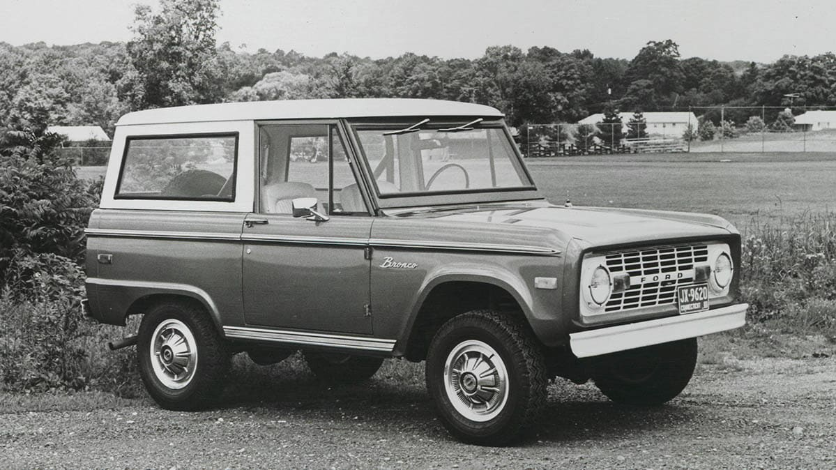 The Ford Bronco Through the Years