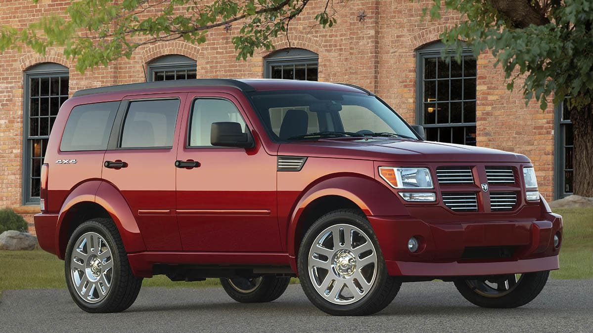 The Dodge Nitro is part of the recall for faulty airbag covers.