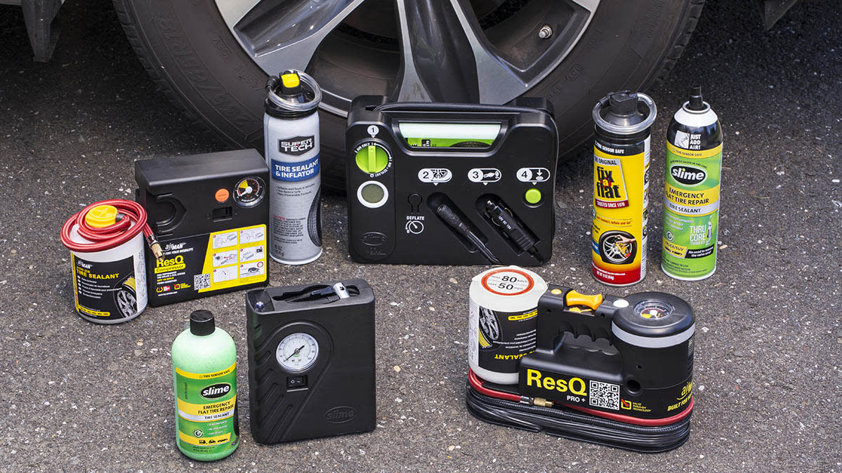 Tire sealant kits reviewed by Consumer Reports.