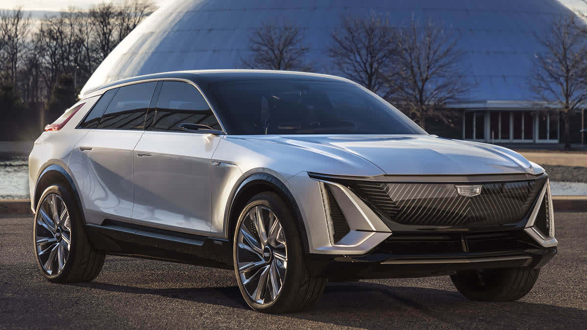 Preview: Cadillac Lyriq Shows GM's Commitment to Electric Cars