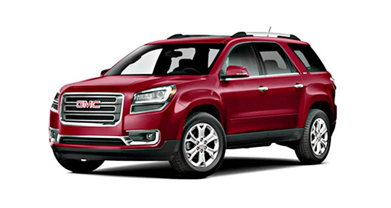 2013 GMC Acadia is among the cars that are most likely to have air conditioning problems