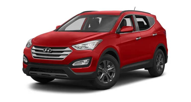 2013 Hyundai Santa Fe is among the cars that are most likely to have air conditioning problems